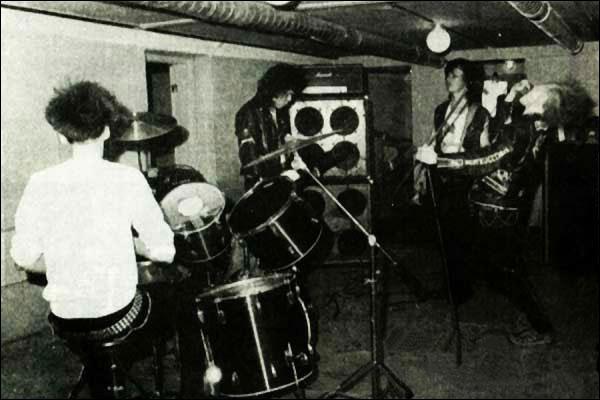 Mellakka practise '85